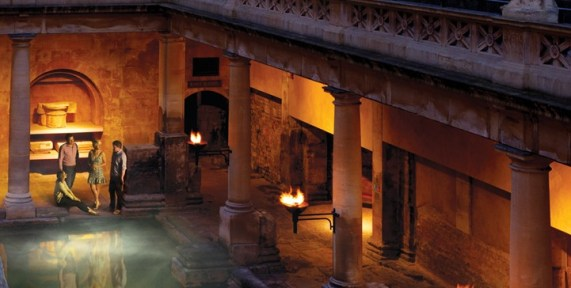 Roman bath open to the public