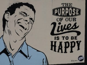 our purpose is happiness