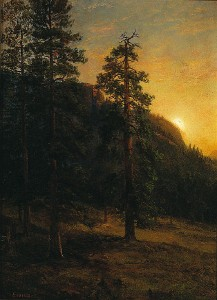 Albert_Bierstadt_-_California_Redwoods