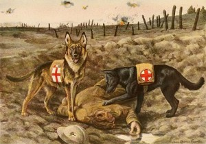 World War One Service Dogs