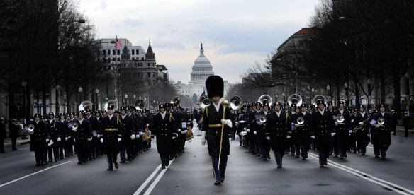 US-presidential-inauguration-marching-band