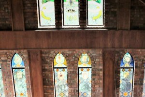 Hout Bay Castle stained glass
