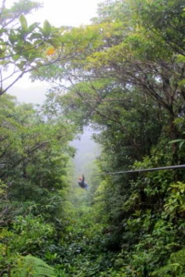 Monteverde, Zip Lining, Santa Elena, Costa Rica