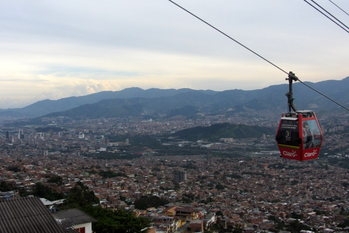 Medellin, Colombia, Cable Car