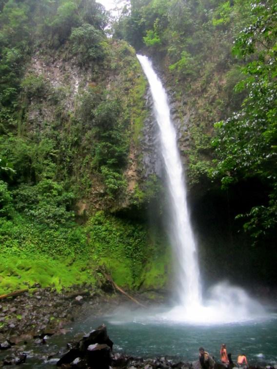 la fortuna, waterfall, costa rica