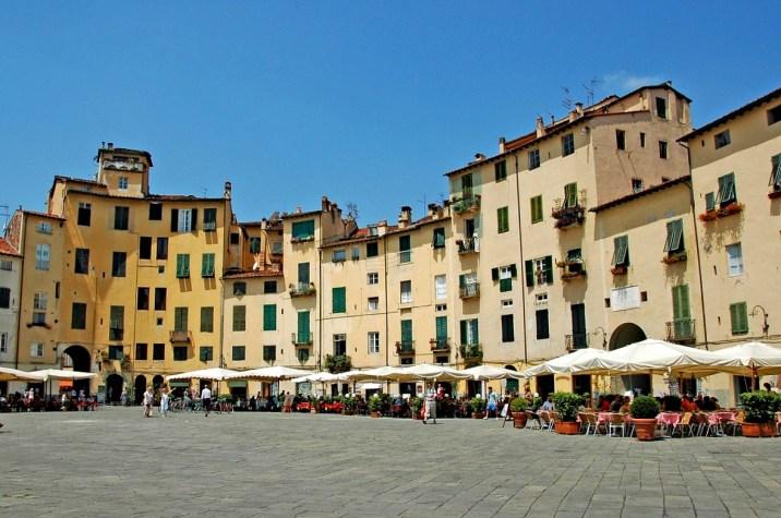 Lucca, Italy, Pisa