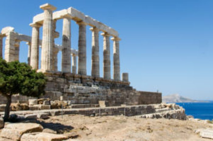 Temple of Poseidon, Sounion, Sounio, Greece