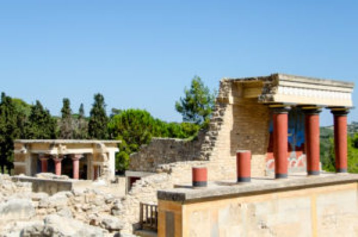 Palace of Knossos, Crete, Heraklion, Iraklio, Greece