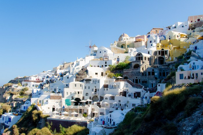 Oia, Santorini, Amoudi Bay, Greece