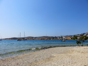 Paros, Parikia, Greece, Livadia Beach