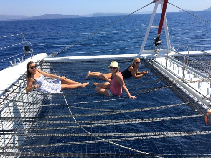Oia, Santorini, Greece, Yacht
