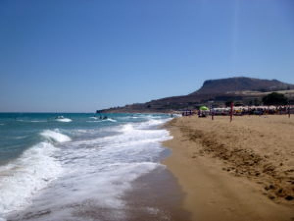 crete, amnissos, greece, heraklion beaches