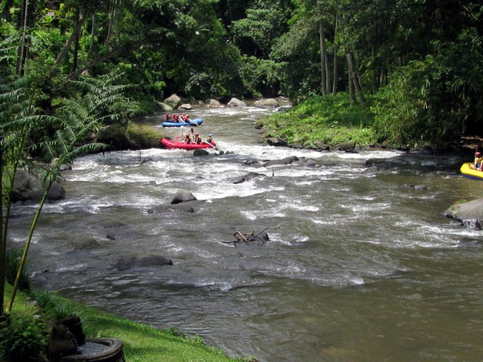 Bali, Indonesia, Ayung River, White Water Rafting