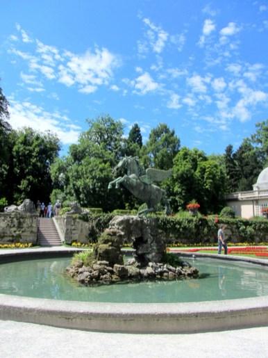 Mirabell Gardens, Salzburg Sound of Music, Salzburg, Austria