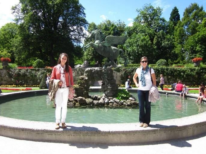 Mirabell Gardens, Salzburg Sound of Music, Salzburg, Austria, Austria