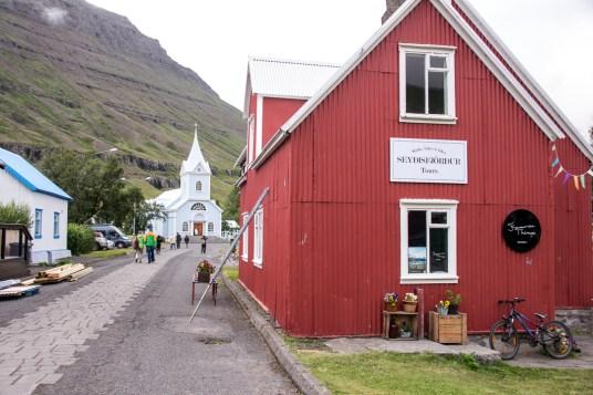 Seyðisfjörður Town Iceland