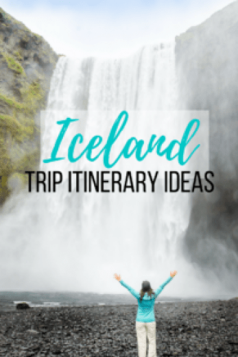 The ultimate post to plan your trip to Iceland - Itinerary Ideas for 10-14 days on a road trip