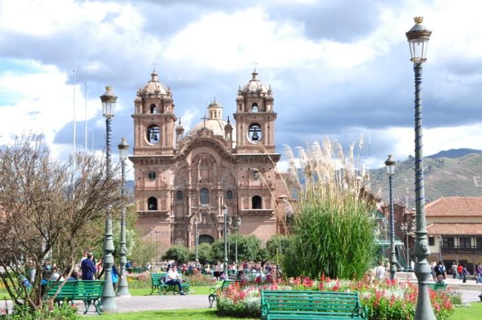 cuzco peru plaza de armas