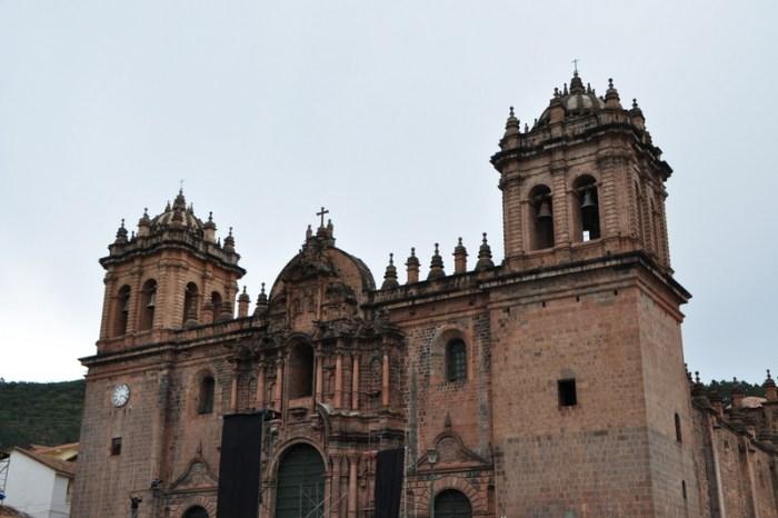 cuzco, peru church plaza