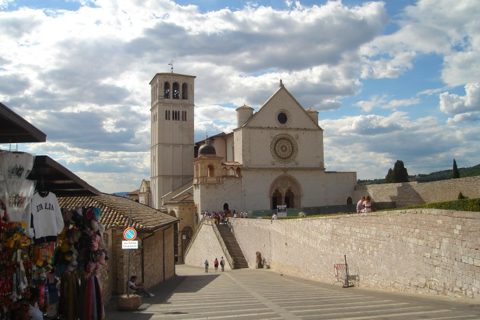 Assisi, St. Francis Cathedral, Italy