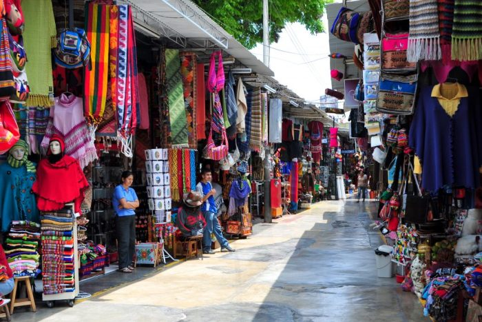 Mercado de Indios Lima Peru