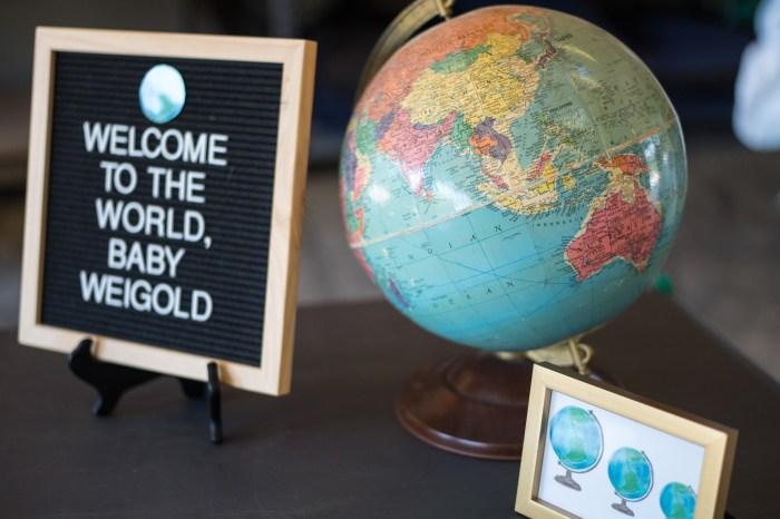 Travel Theme Baby Shower