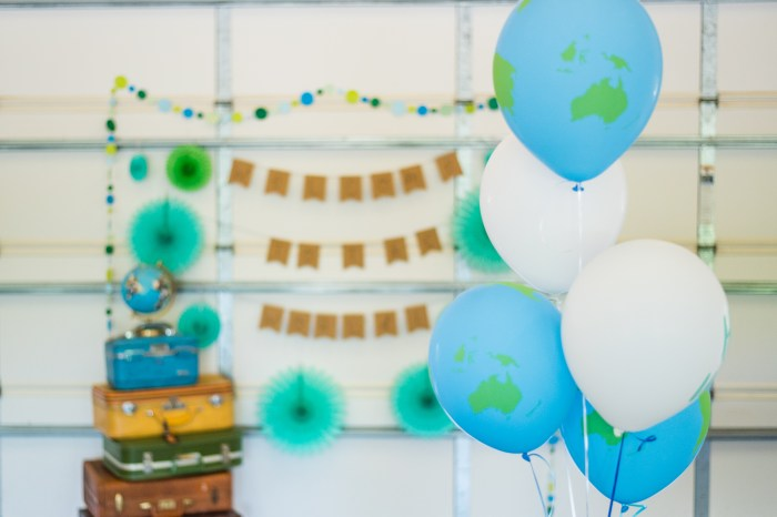 Travel Theme Baby Shower