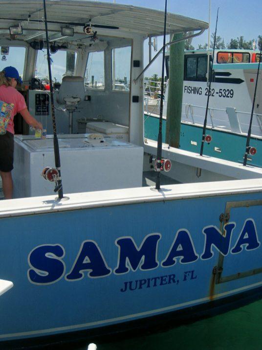 jupiter florida fishing samana