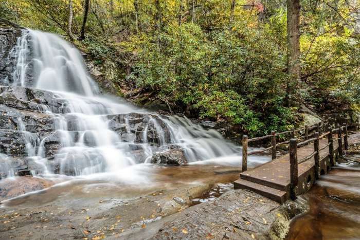 laurel falls, tennessee, hiking