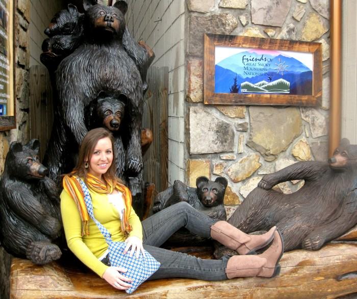 Gatlinburg Bear Statues