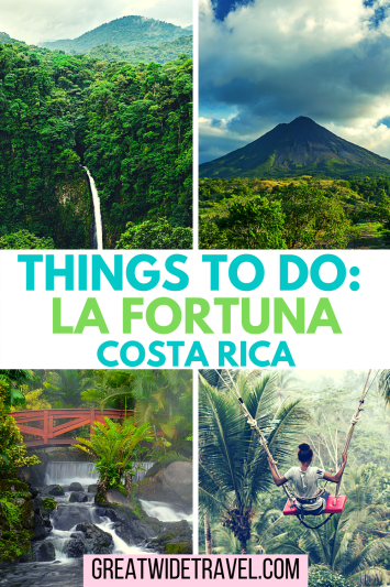 Things to do with 1-3 days in La Fortuna, Costa Rica