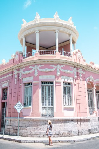 villaronga house, pink house, ponce, puerto rico, instagram spot