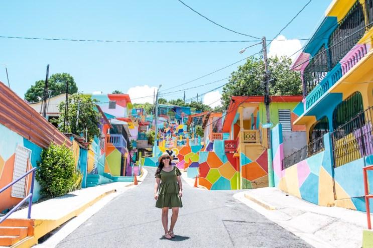 yauco, colorful town, puerto rico, insagram spot