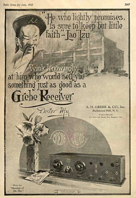 Grebe Radio Ad