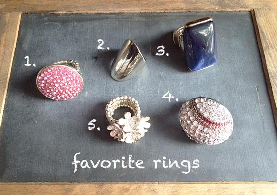 rings all