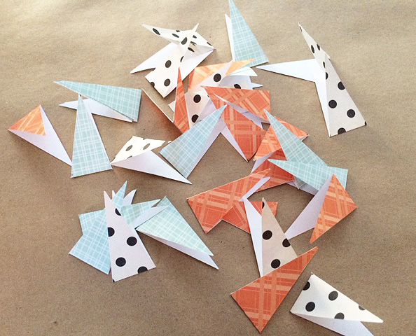 all triangle pieces