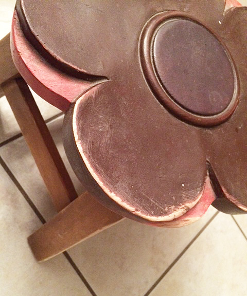 stool sanded