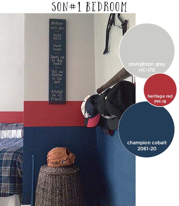 boy 1 room paint
