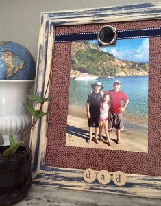 father's day frame DIY