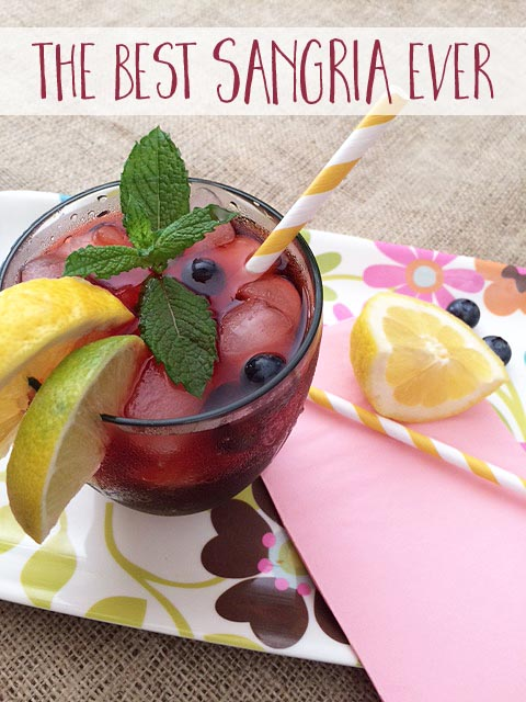 fall favorite - best sangria recipe ever