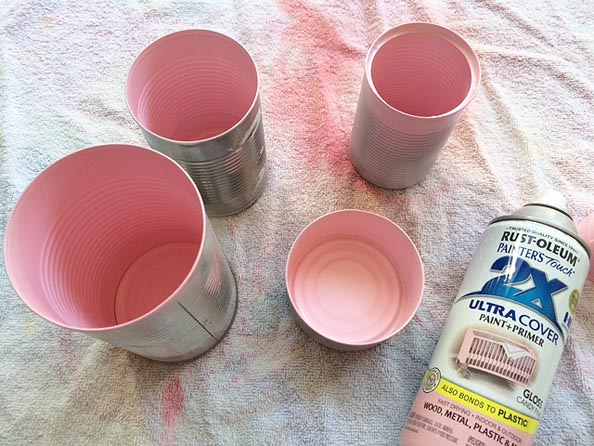 cans pink