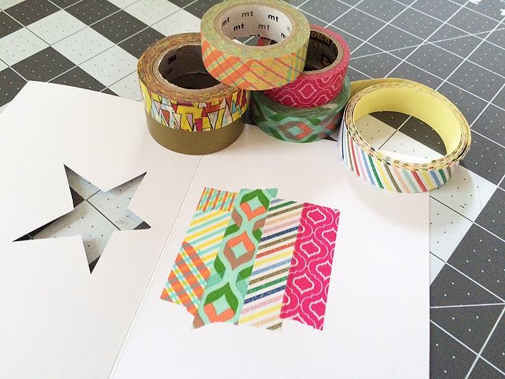 greco design_star card washi tape