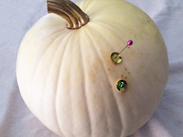 pumpkin bling_decorating