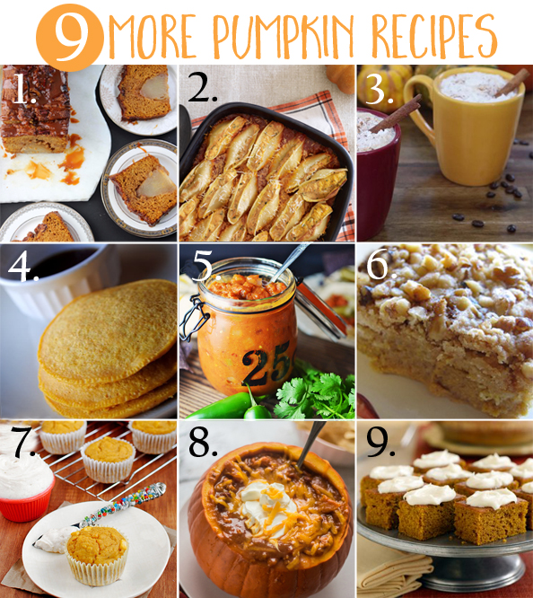 pumpkin recipe montage