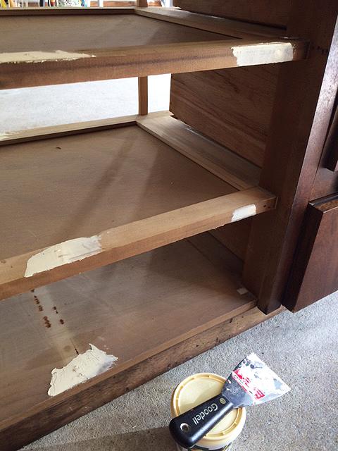 mid century dresser_fill holes