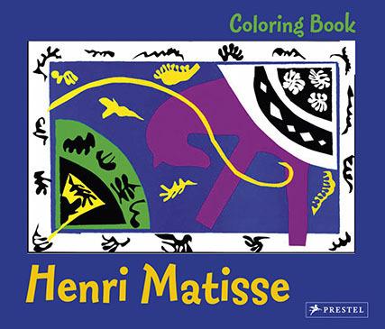 Matisse coloring book