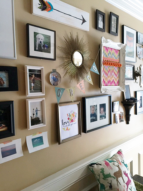 yearly art prints_gallery wall