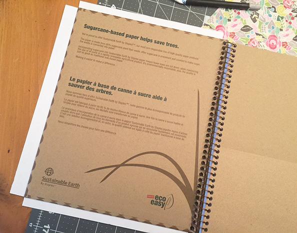 notebook diy_wrap cover
