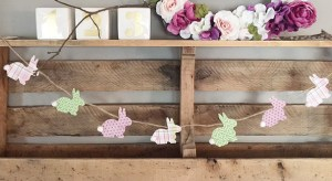 FREE bunny stencil & projects ideas