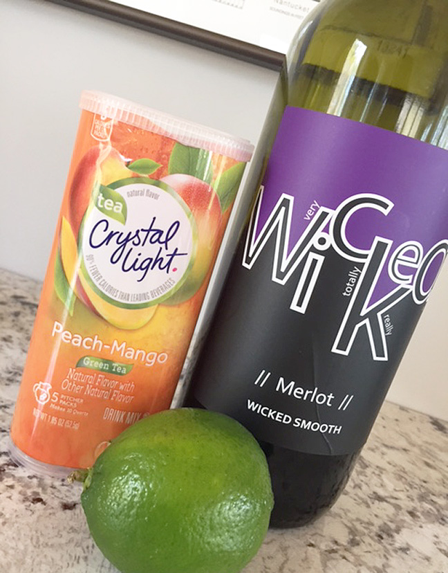 sangria in a pinch ingredients